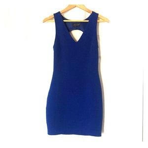 Royal blue ASTR mini dress